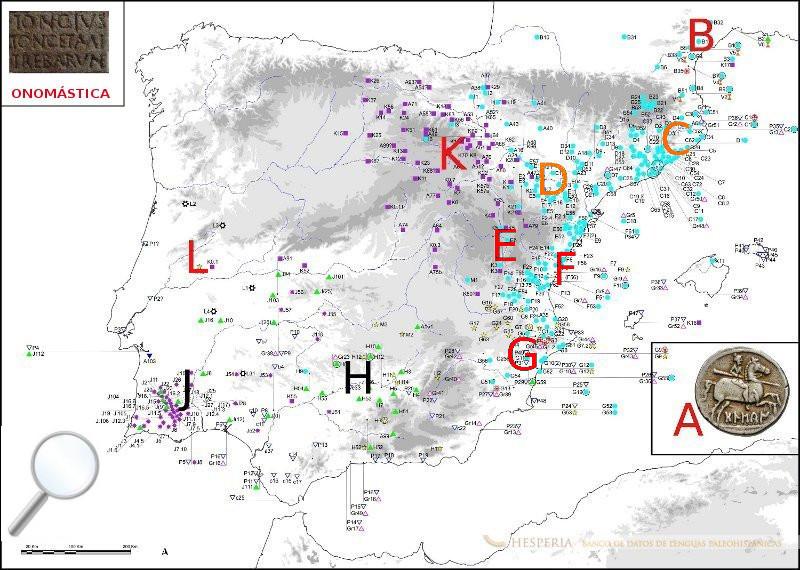Hesperia Banco de datos de lenguas paleohispnicas